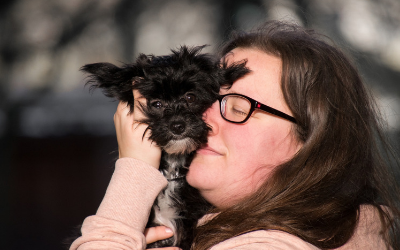 image for April 10 is National Hug Your Dog Day: It's Good for Both of You